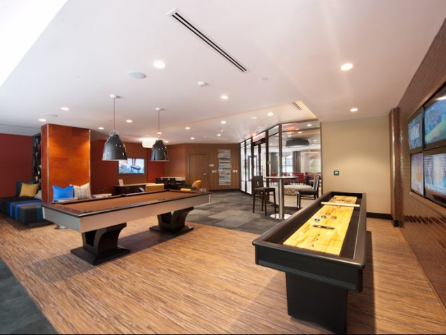 Image of Game Room for Virginia Square Towers