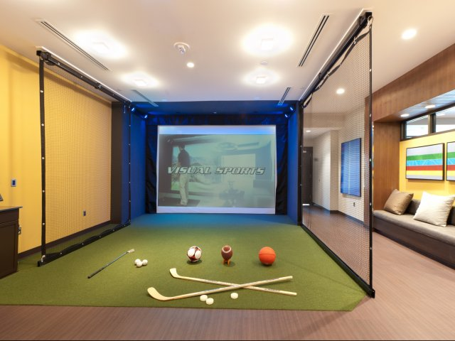 Image of Golf & Multi Sport Simulator with Lounge for Virginia Square Towers