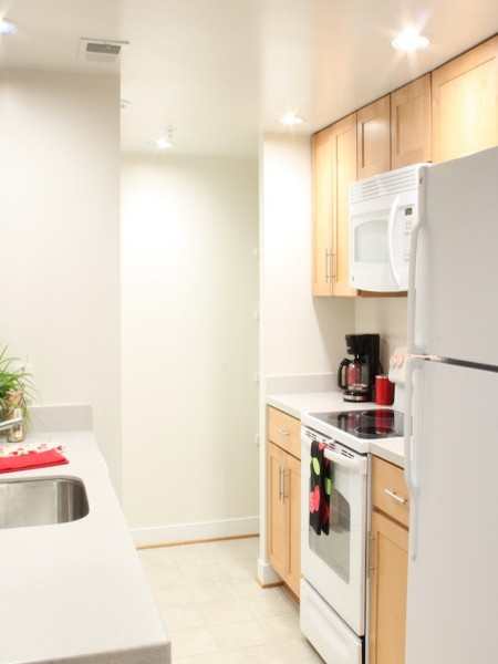 Modern Kitchen | Arlington VA Apartment | Thomas Court