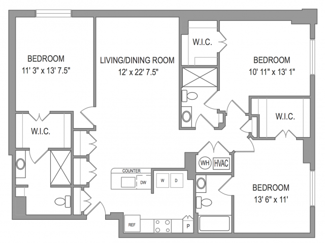 3 Bedroom Apartments in Arlington VA | Henderson Park