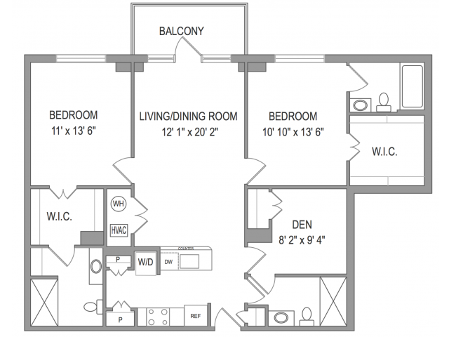 3 Bedroom Apartments In Arlington VA | Henderson Park 5