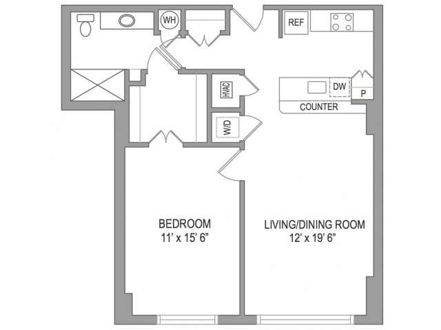 1 Bedroom Arlington Virginia Apartments | Birchwood 2