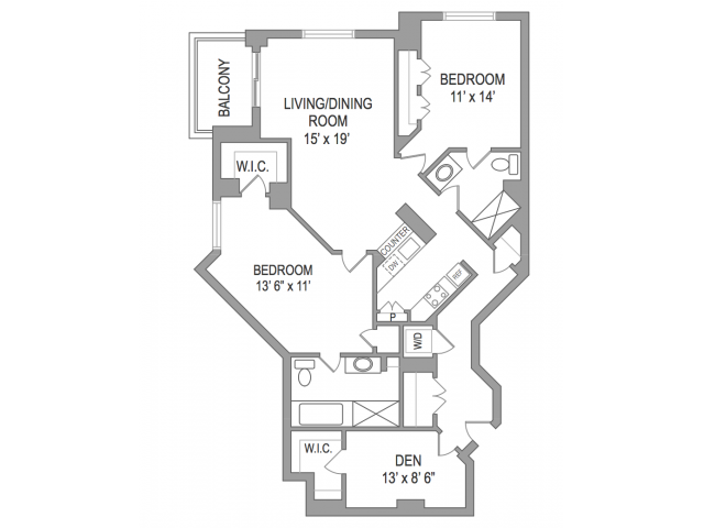 2 Bedroom Arlington Virginia Apartments | Birchwood 5