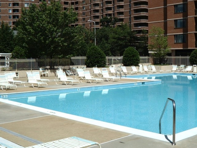 Resort Style Pool | Apartments In Arlington VA | Courtland Towers