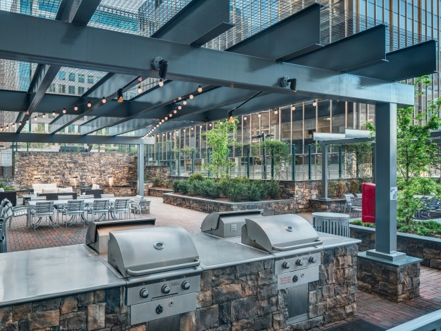 Resident Fire Pit | Apartments In Arlington VA | Randolph Towers