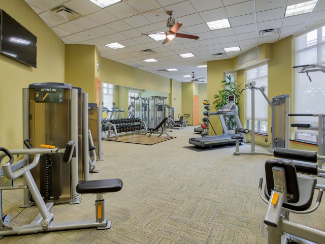Resident Fitness Center | Arlington VA Apartments For Rent Near Metro | The Amelia
