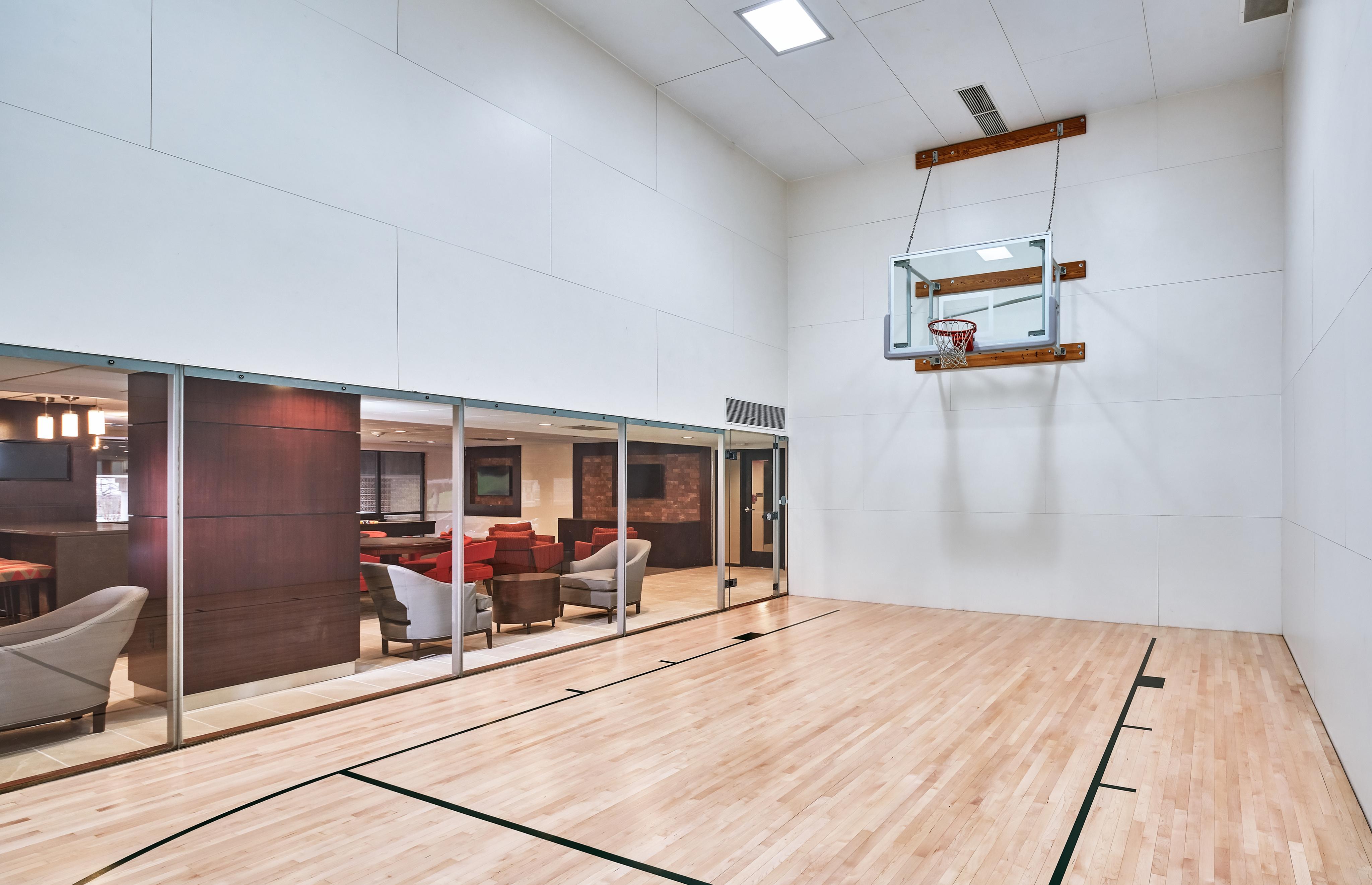 Community Basketball Court   Arlington Apartments   Courtland Towers