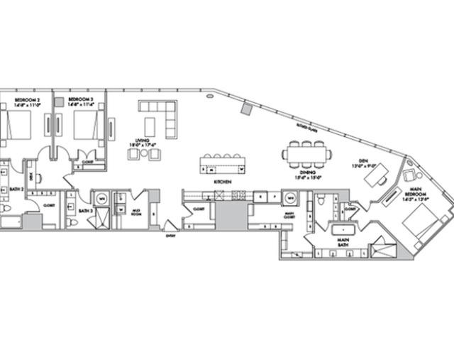 P4210 Floorplan Image