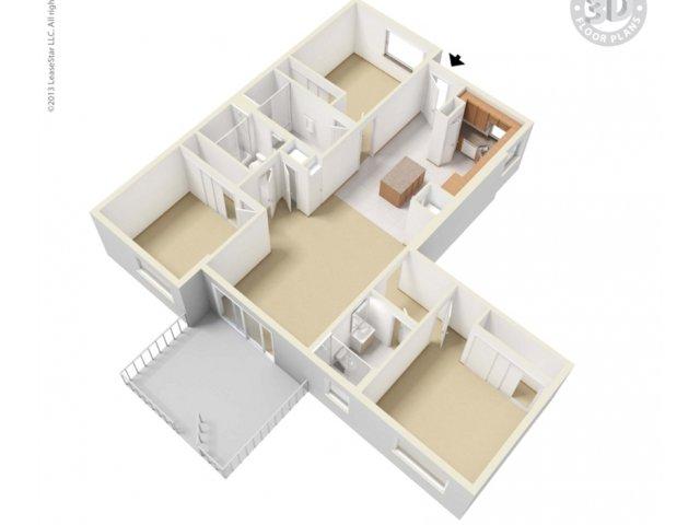 3X3-1ST-4TH-floor plan