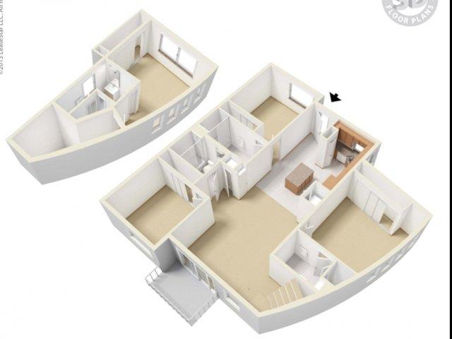 4bd/4ba-4TH-floor plan