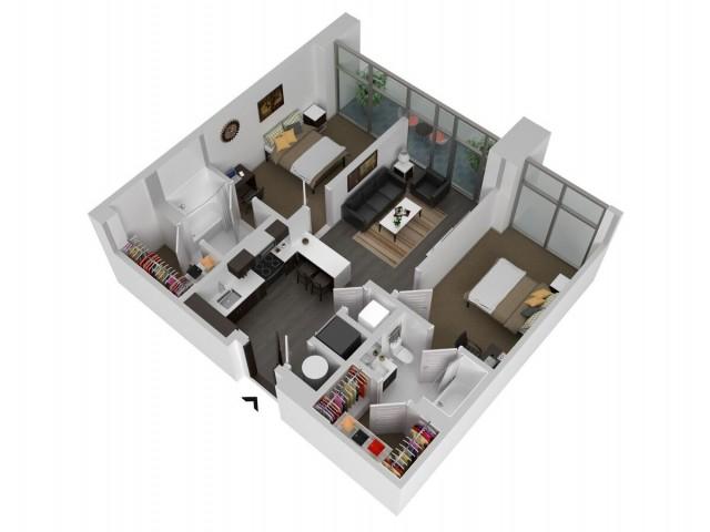 B1 -Two Bedroom