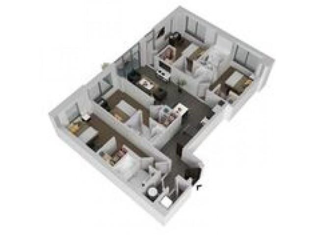 D1 - Four Bedroom