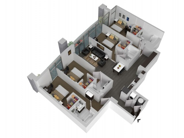D2 - Four Bedroom