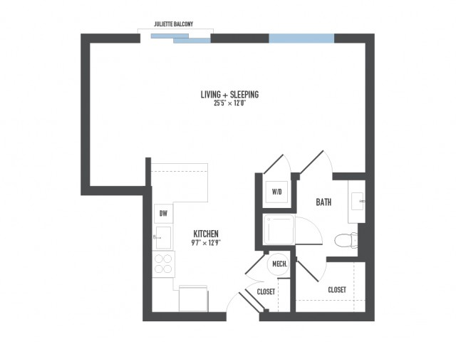Floor Plan 3   Pittsburgh Apartments   Arsenal 201
