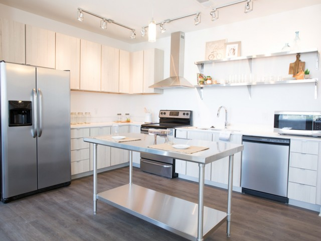 Image of Stainless Steel Appliances for 747 Apartments