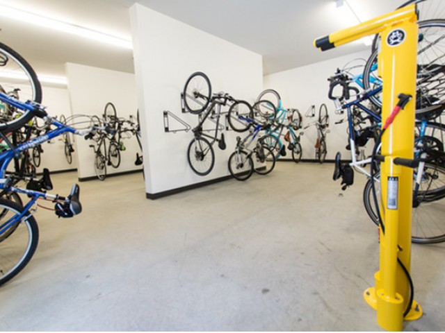 Image of Bike Storage Room for Pinnex
