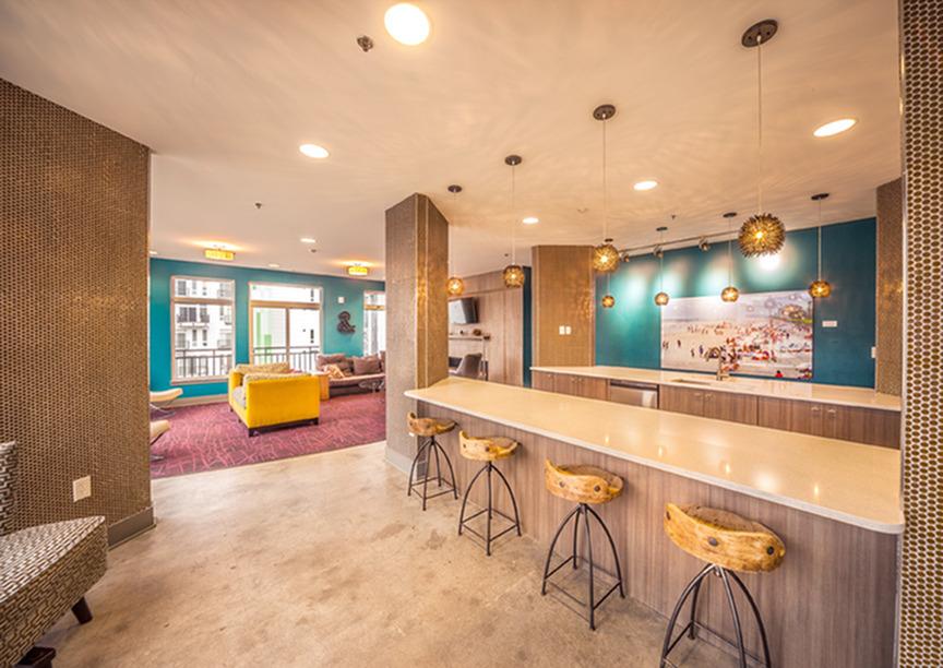 Image of Aqua Lounge for Artistry