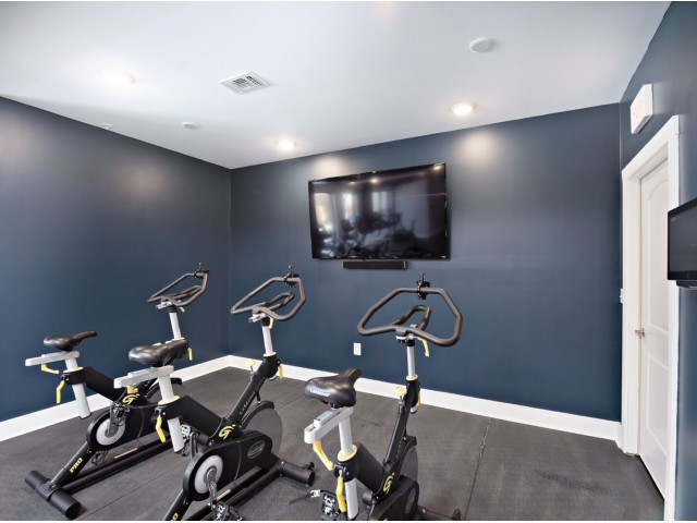 On-site Fitness Center | 1,2,3 Bedroom Apartments Bloomington IN | Echo Park-Bloomington