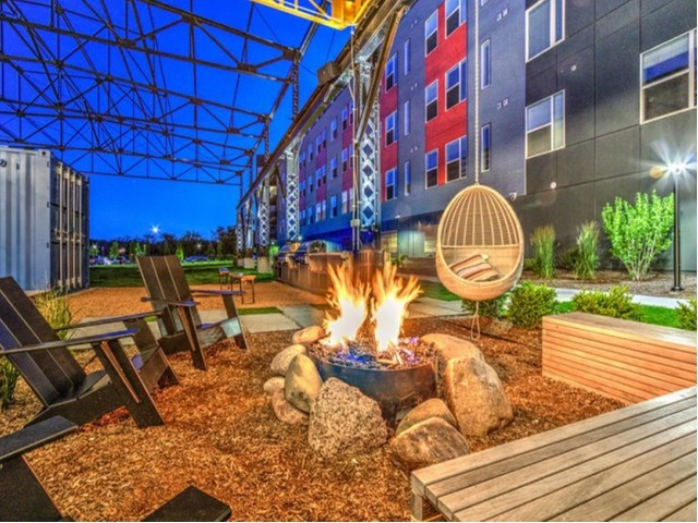 Community Fire Pit | Milwaukee Apartments | Stitchweld