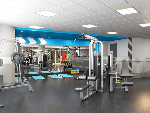 Resident Fitness Center | Rental Apartments in Kansas City Mo | Gallerie