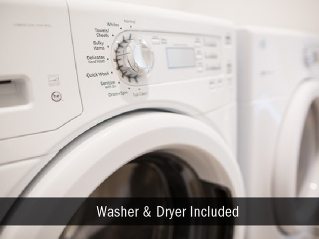 Washer Dryer Included, Broad Ripple Apartments
