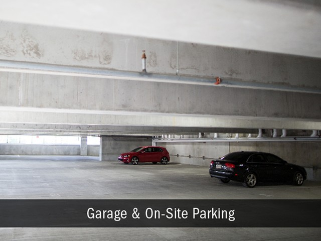 Garage and Covered Parking Available, Indianapolis Broad Ripple Apartments