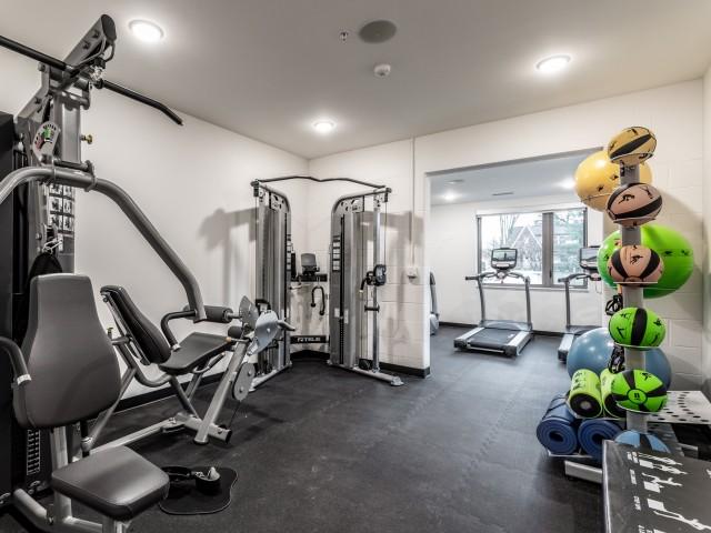 Gym, Indianapolis Apartments