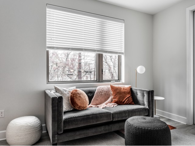 Spacious Living Area | Indianapolis Apartments Downtown | The MK