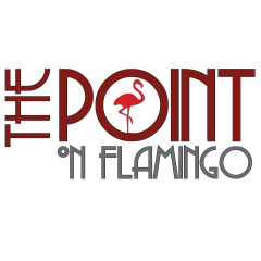 The Point on Flamingo Logo