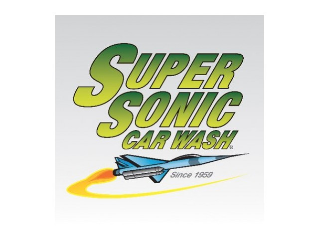 Supersonic Car Wash | Logo