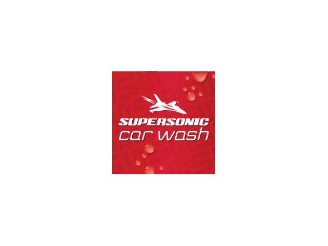 Supersonic Car Wash Logo