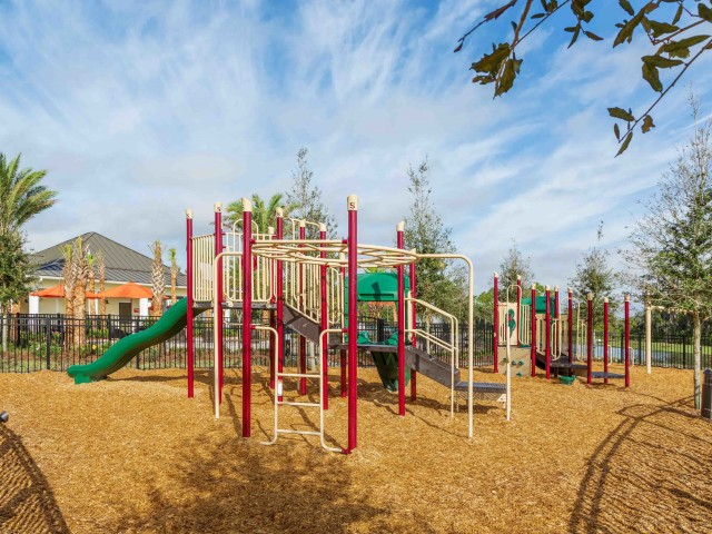Image of Two Children's Playgrounds for ParkCrest Landings