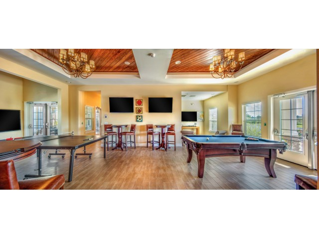 Image of Game Room With Billiards, Ping Pong, Video Games and Multiple Big Screen TVs for ParkCrest Landings