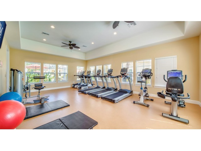 Image of State-of-the-Art Fitness Center With Aerobic and Weight Machines for ParkCrest Landings