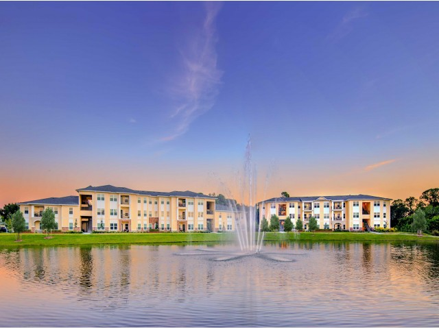 Image of Four Large Lakes With Fountains for ParkCrest Landings
