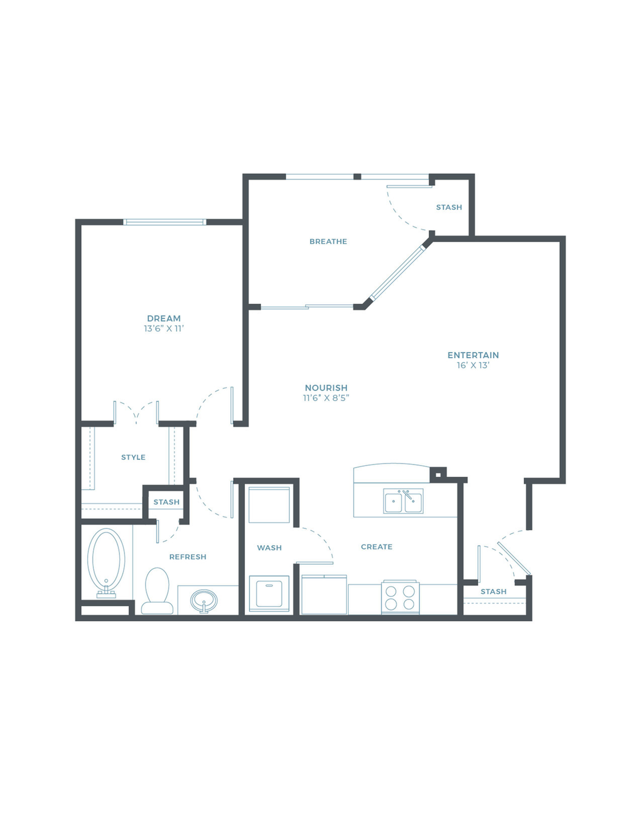 Palmetto WF Floor Plan