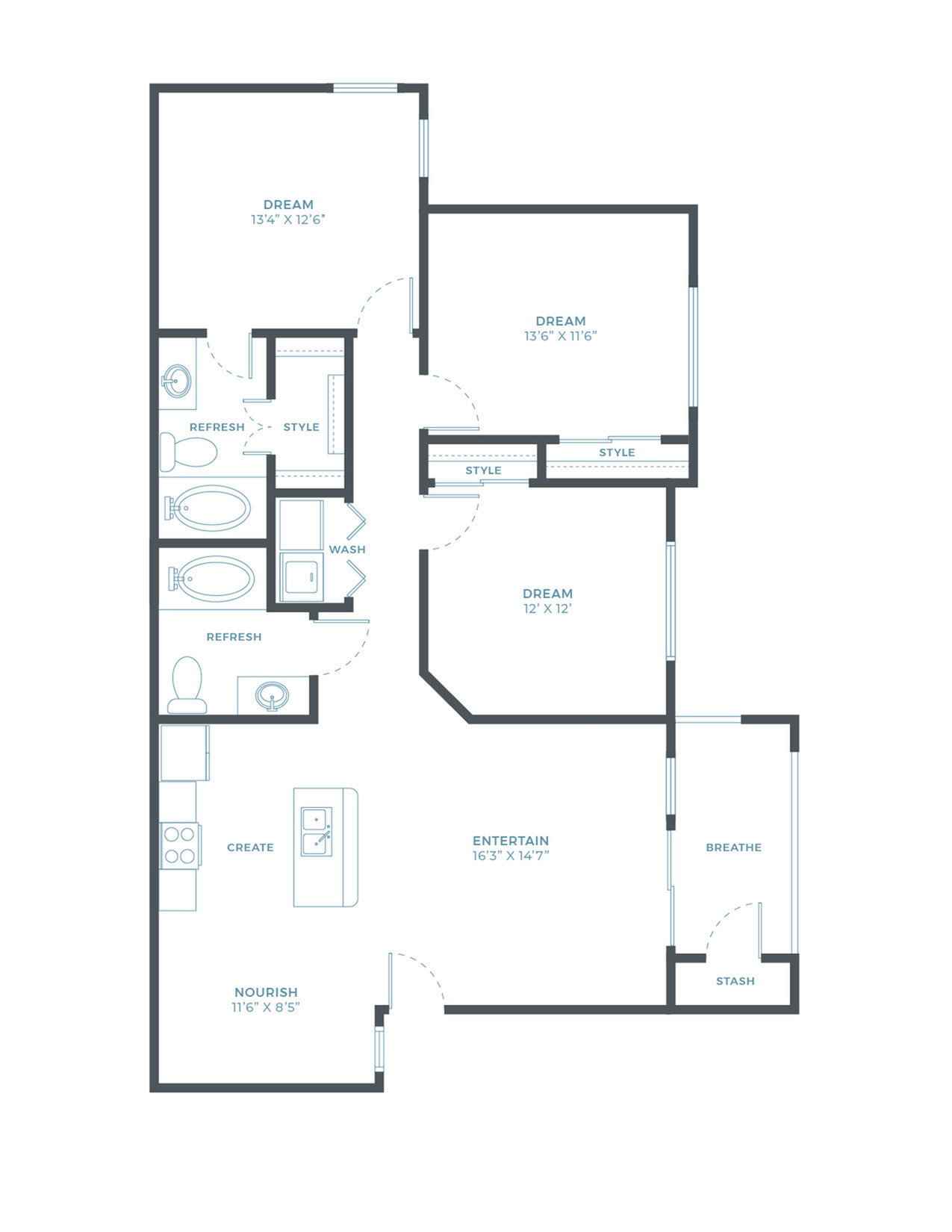 The Cattail Floor Plan