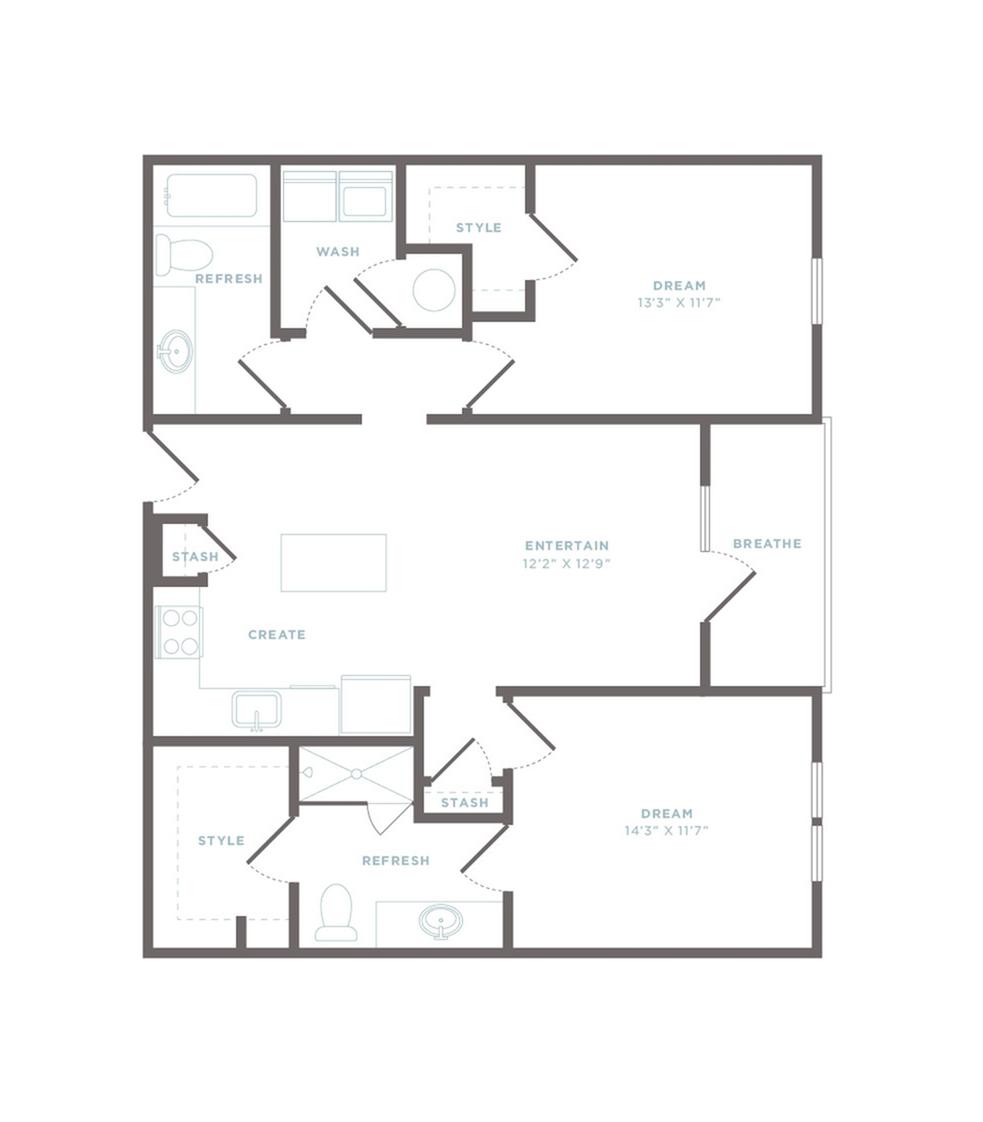 B1 - Ponce Floor Plan