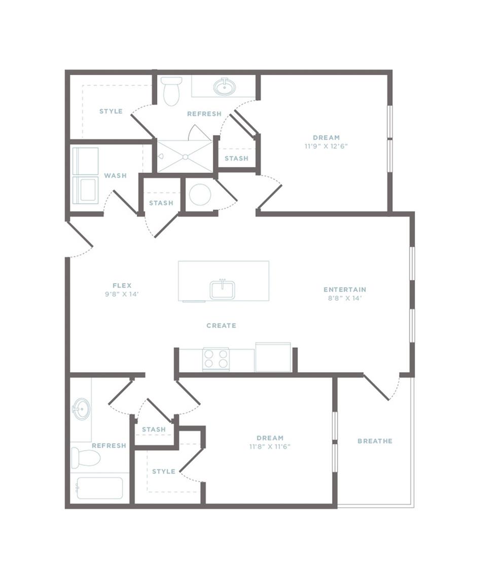 B2 - Castaway Floor Plan