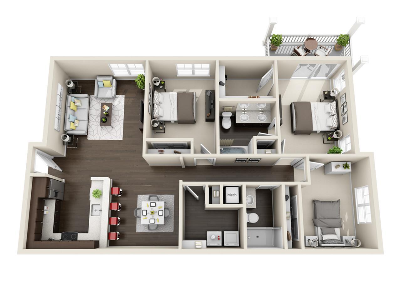 Indigo Floor Plans