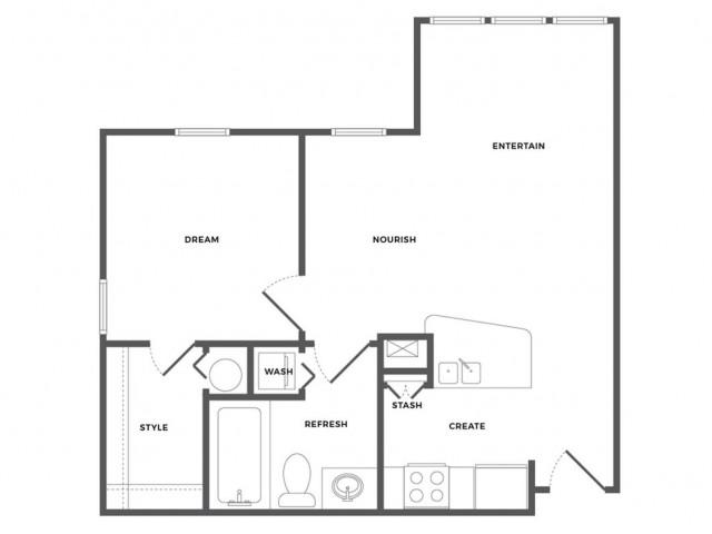 Belmar Luxe Floor Plan