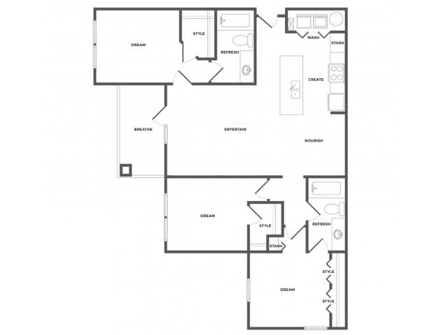 Duncan Luxe Floor Plan