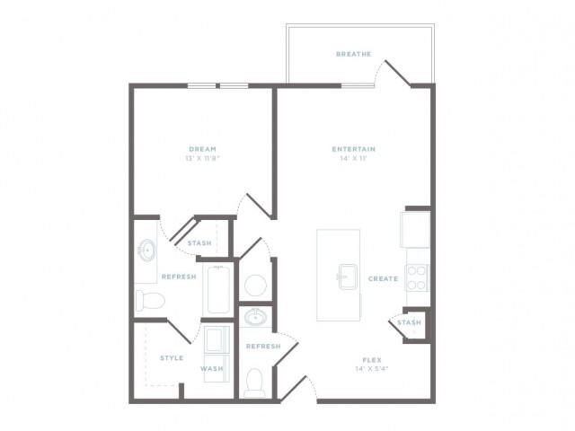 A2 - Abby Floor Plan