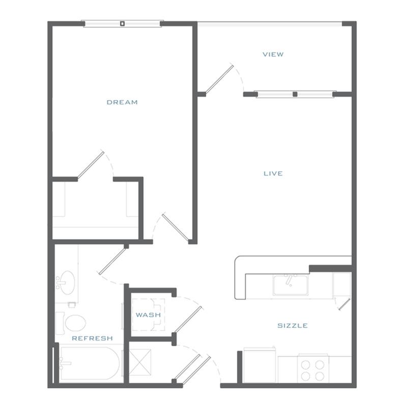 A1 Floor Plan