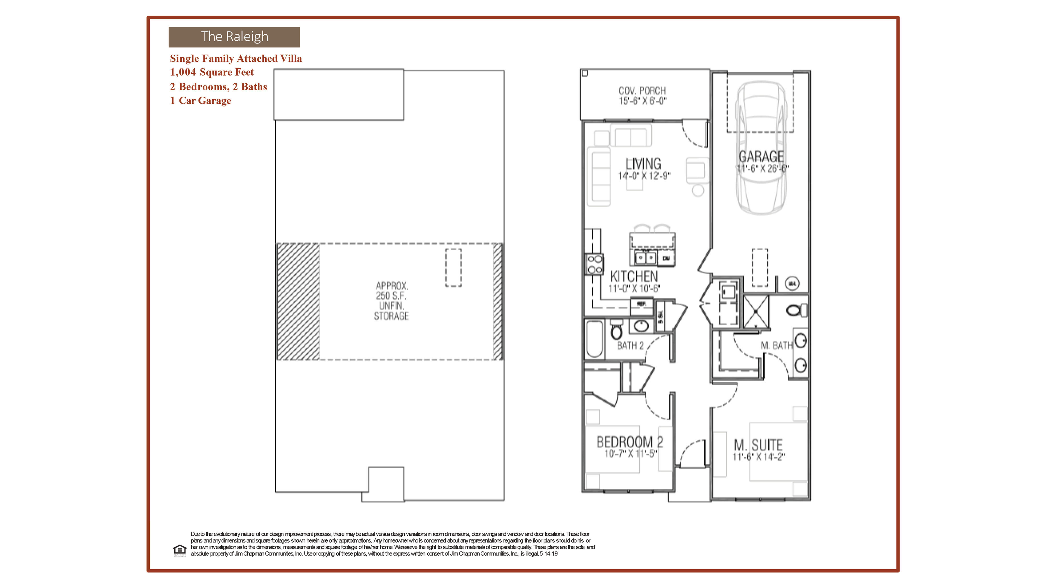 Raleigh Floor Plan