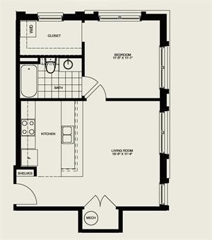 A6 Floor Plan