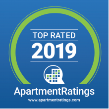 Award for 2019 Top Apartment Rating