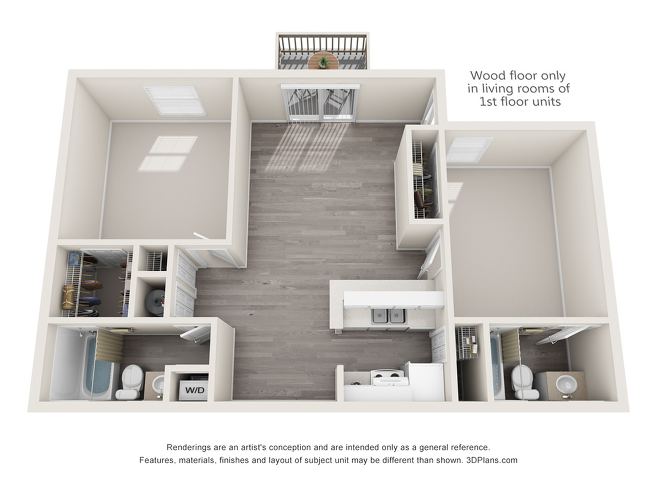 Leclare Floorplan