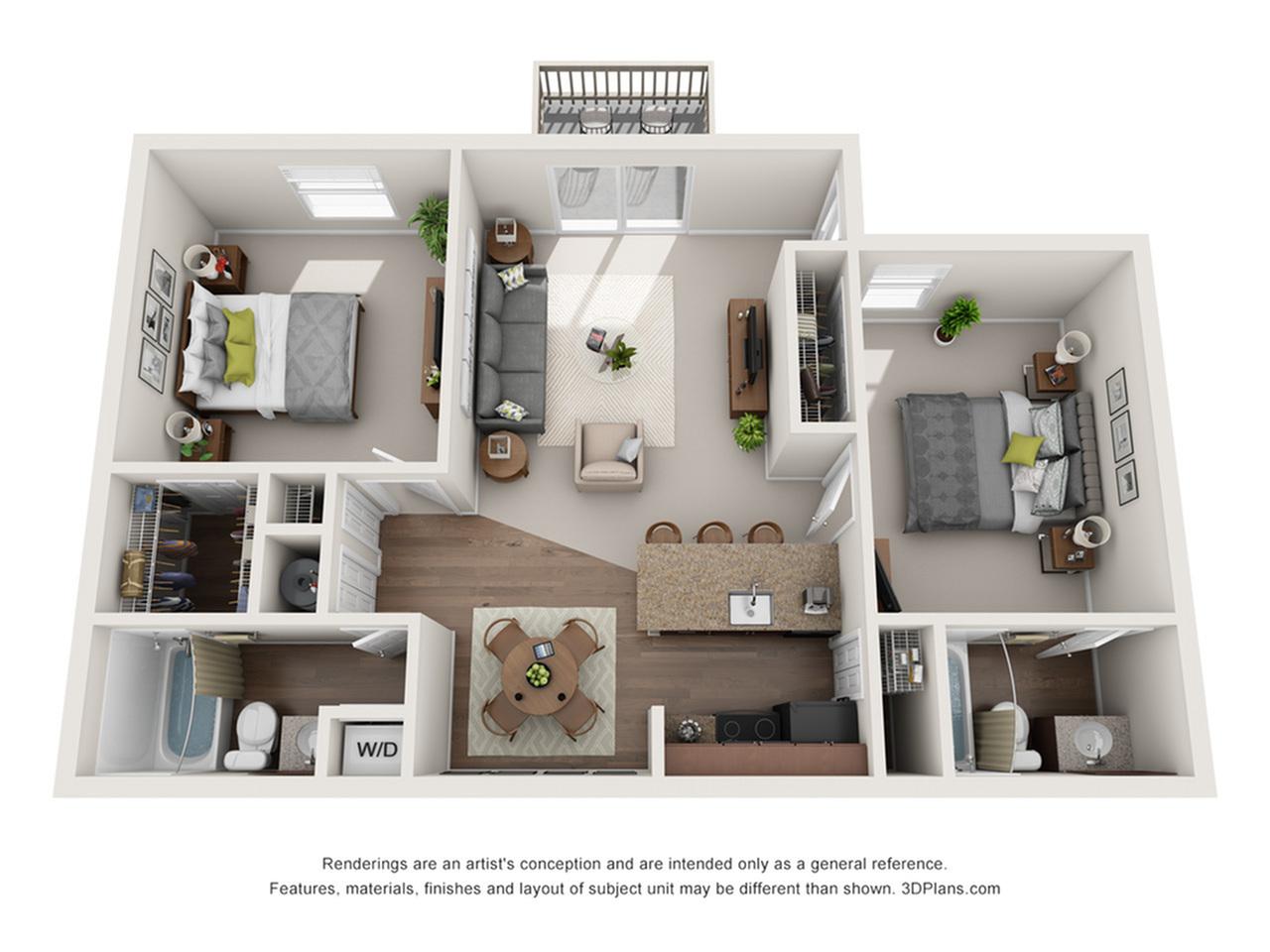 Leclare Platinum Floorplan