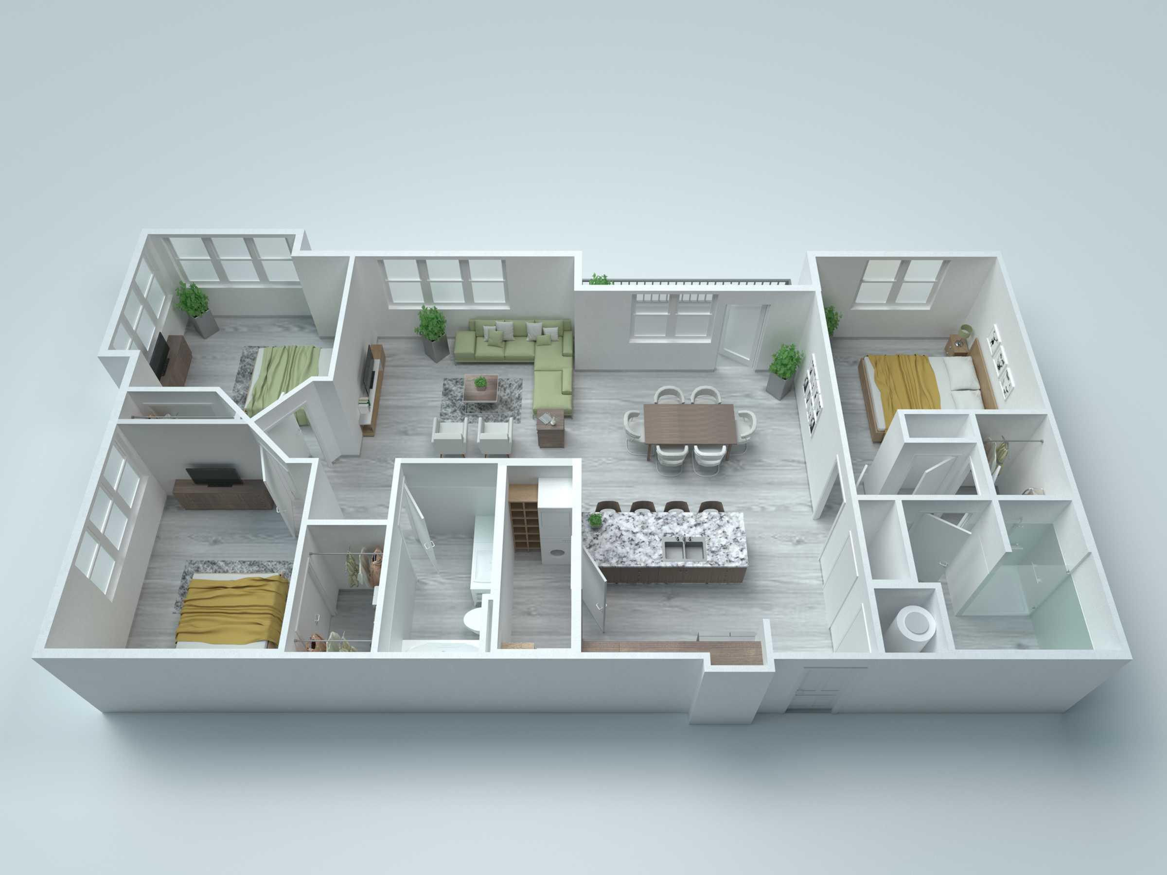 C3 Alt2 Floor Plan
